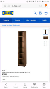 Looking for Ikea bookcases
