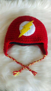 Crochet flash hat!