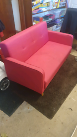 Kids sofa chair. Pink.