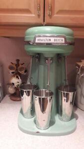 1950s Hamilton Beach Triple Milk Shaker in Mint