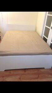 Ikea double bed with maitress- delivery
