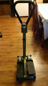 Step machine exercice