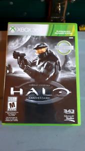 Xbox 360 game halo anniversary edition