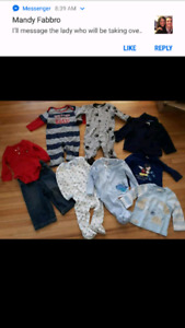 Baby Boy Items 6-12 months  $1 each or all for $8