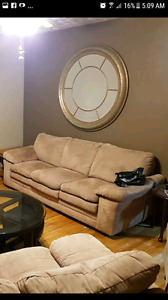 Couch and loveseat $400 OBO