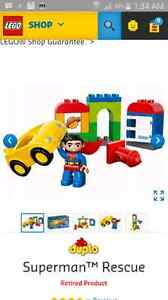 5 used and mostly retired Lego Duplo sets available  Kitchener / Waterloo Kitchener Area image 2
