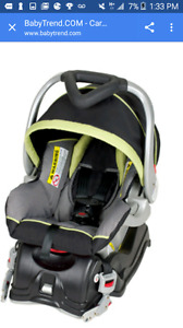 Carseat and jogging stroller combo