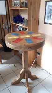 Table avec lumière