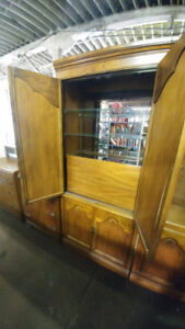 China Cabinet and Bar Cabinet Display Case