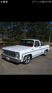 WANTED 73-80 CHEVY C10 short box