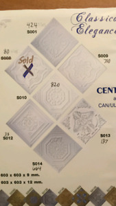 DECORATIVE CEILING TILES FOR HOME OR BUSSINESS RENO