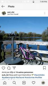 Vélo devinci pour femme hybride