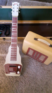 1952 Gibson Lap Guitar and Amp