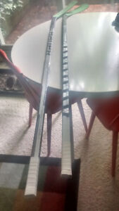 Bauer TotalOne LE Used Hockey Sticks X2 RH $70 for Both