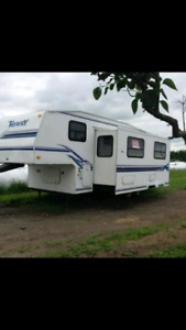 Roulotte fifth wheel à vendre
