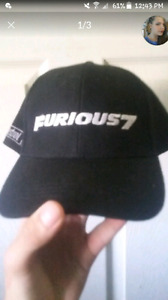 Fast and furious 7  hat