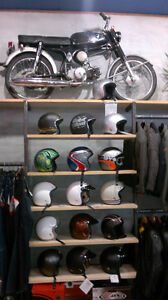 Boutique de vêtements de moto