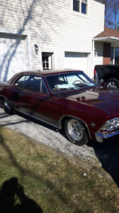 1966 chevelle project
