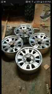 17in 5 bolt ford rims