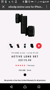 Olloclip active lens for iphone 6/6s