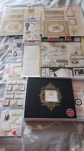 Wedding scrapbook lot