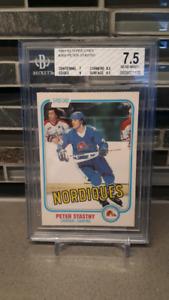 1981-82 OPC Peter Stastny Rookie Hockey Card