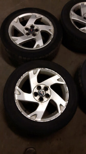 Pontiac vibe rims and tires