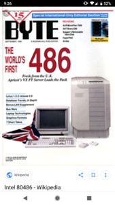 Looking for a working 486 computer