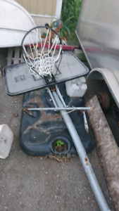 Basketball net, needs repair and assembly