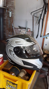 XL size motorcycle helmet