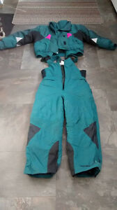 Ladies 2 piece ski-doo suit