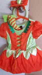 Size 4 pumpkin Halloween costume