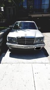 1985 300sd turbo diesel Mercedes-Benz