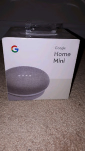Google Home Mini - Chalk  BNIB SEALED