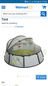 WANTED - pop up tent