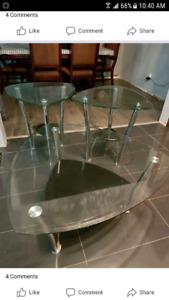 selling 3 piece coffee tables