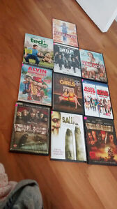 10 DVDs for $25