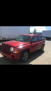 2008 jeep patriot 4x4 REDUCED FOR QUICK SALE