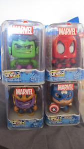 4 figurines Mighty Muggs de Marvel