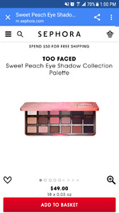 Two faced palette brand new