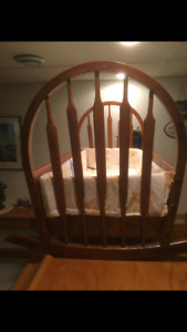 Bassinet Hand Crafted by European Finish Carpenter