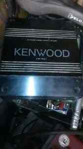 two Kenwood amplifiers for sale Cambridge Kitchener Area image 1