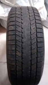 4 Used P265/ 70R16 Winter Tires
