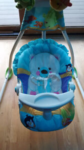 swing and chair/rocker both Fisher Price