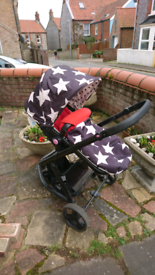 Cosatto giggle two pram/buggy system