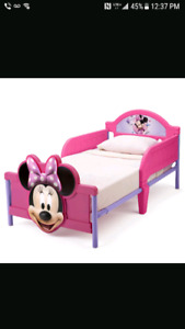 Mini mouse bed with mattress