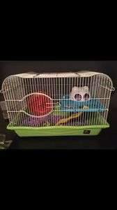 Hamster cage high quality/large bonus free bedding
