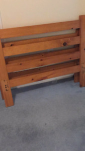Twin bed with trundle n matress