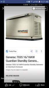 16kw propane generator