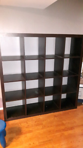 Expedit ikea cube shelf
